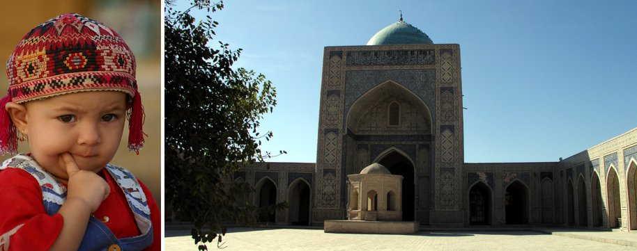 Usbekistan-Taschkent-Ferghana-Chiwa-Buchara-Samarkand