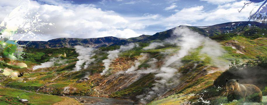 Kamtschatka-Vulkane-Geysire