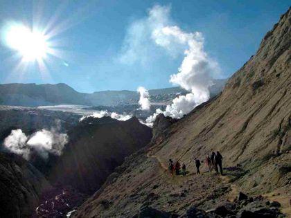 Kamtschatka-Geysire-Vulkane